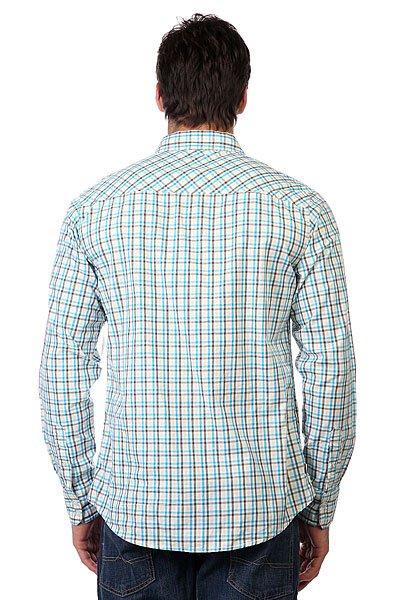 Рубашка в клетку Zoo York Enew15 Anytime White