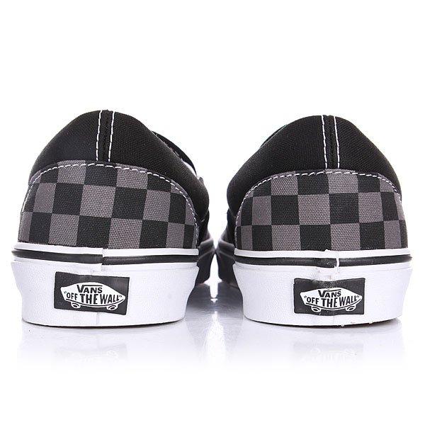 Слипоны Vans Classic Slip On Black/Pewter Checkerboard