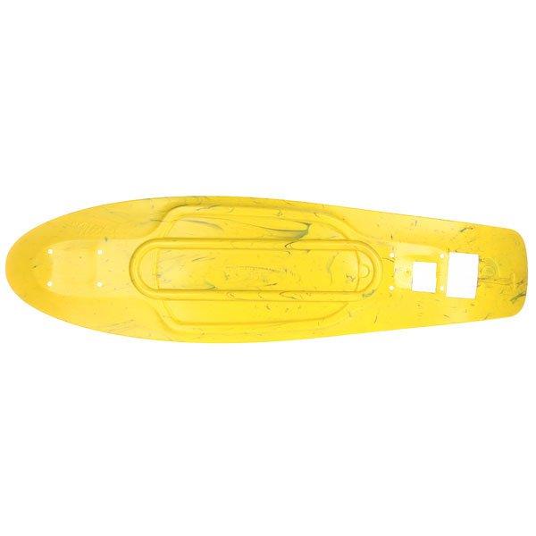 Дека для лонгборда Penny Deck Nickel Marble Yellow/Black 7.5 x 27 (69 см)