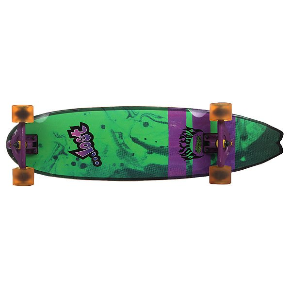 Скейт круизер Lost Lost Dorado Xl Green/Purple 9.5 x 34.5 (87.6 см)