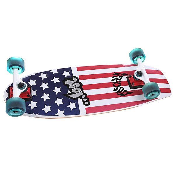 Скейт круизер Lost Patriot Ii Blue/Red/White 9.5 x 30 (76.2 см)