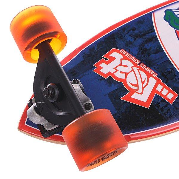Скейт мини круизер Lost University Of Florida Blue/Orange 8.75 x 28 (71.1 см)