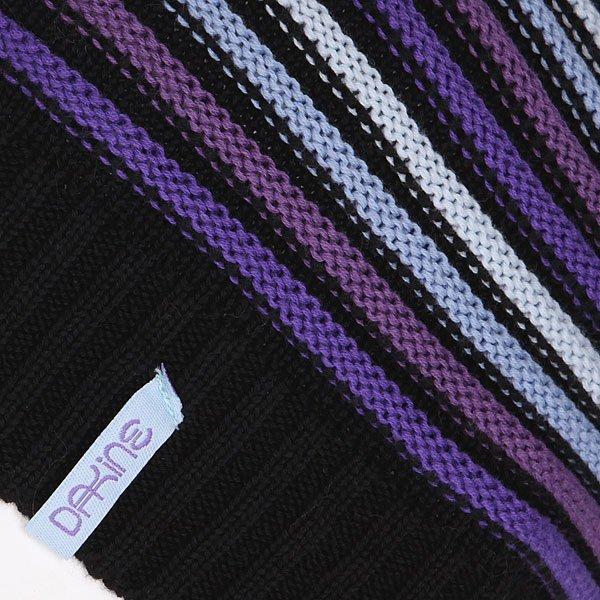 Шапка носок женская Dakine Cleo Black Stripe