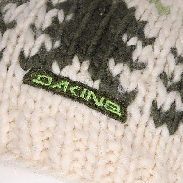 Шапка вязаная Dakine Trees White