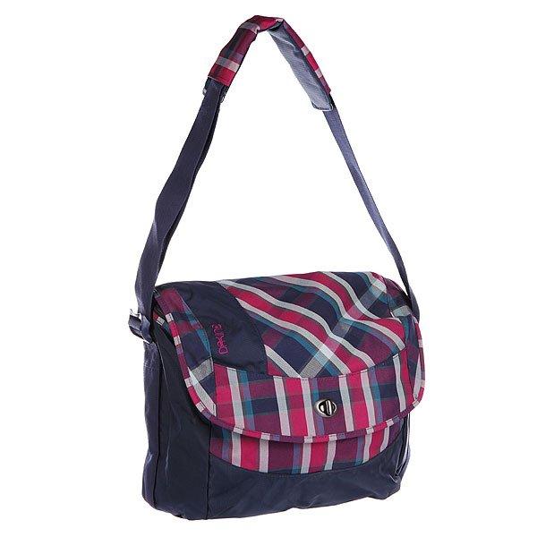 Сумка женская Dekline Brooke Messenger Bag Vivienne Plaid/Navy
