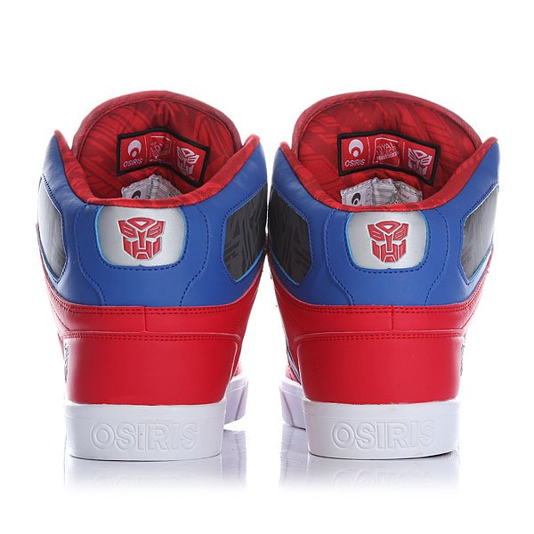 Кеды высокие Osiris Nyc 83 Vulc Optimus Prime