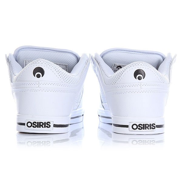 Кеды низкие Osiris Protocol White/Black/Gum