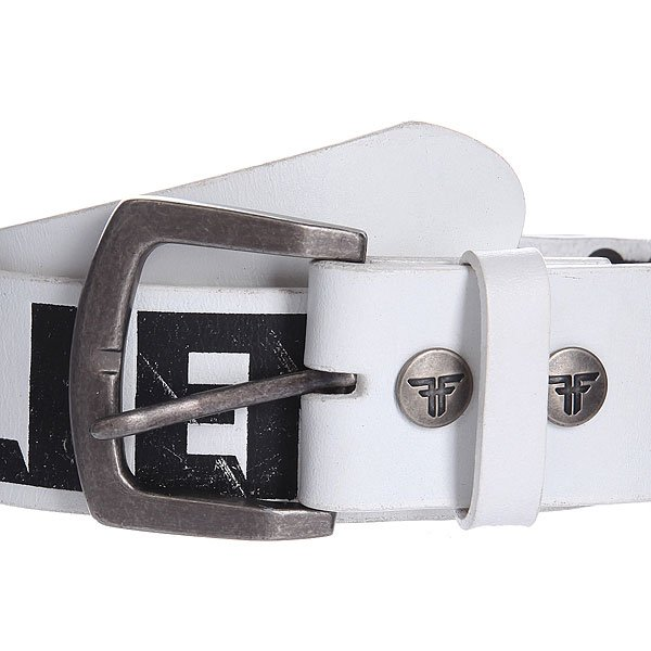 Ремень Fallen Guitar Strap Belt White