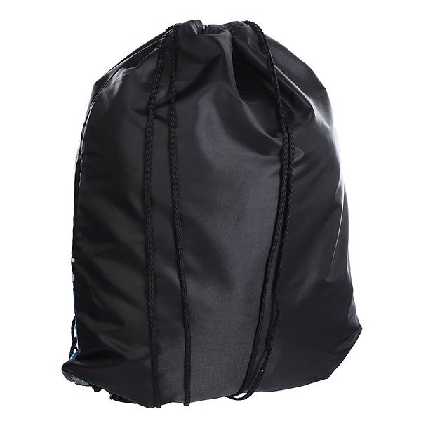 Мешок Osiris Drawstring Gym Bag Black/Cyan