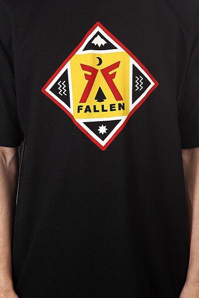 Футболка Fallen Haven Black/Blood Red