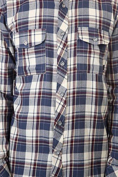 Рубашка в клетку Fallen Emery Mid Blue