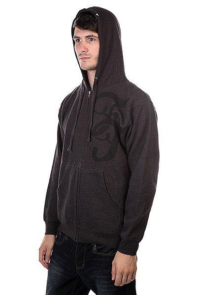 Толстовка Fallen Motif Zip Hood Black