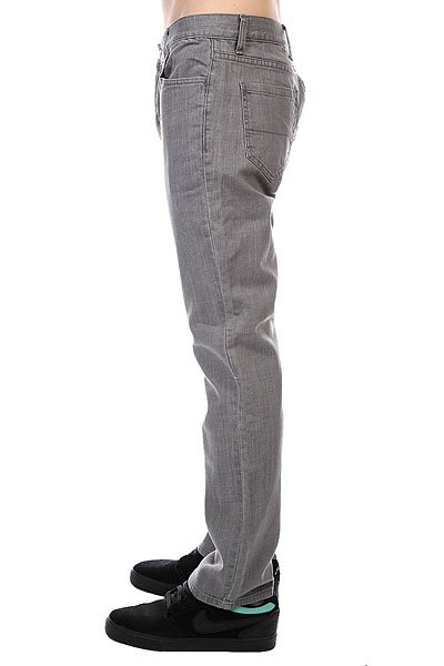 Джинсы Fallen Straight Fit Jean Grey