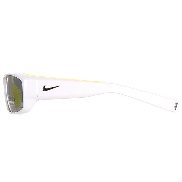 Очки Nike Optics Brazen Grey W/ Silver Flash Lens White/Electric Yellow