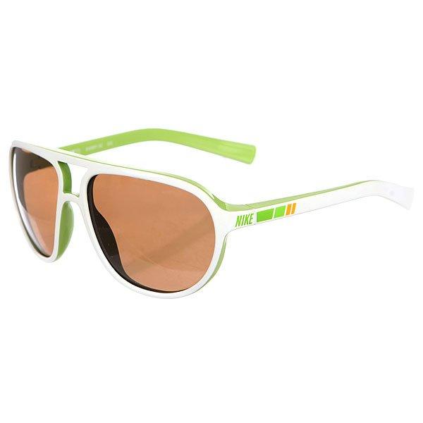 Очки Nike Optics Vintage Mdl Brown Lens White/Green