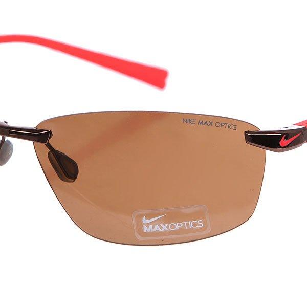 Очки Nike Optics Emergent Walnut Hyper Red/Brown Lens