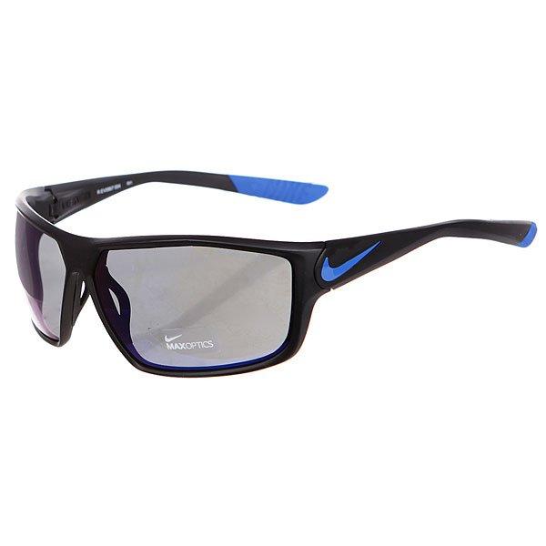 Очки Nike Optics Ignition R Matte Black/Game Royal Grey W/Blue Night Flash Lens