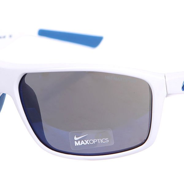 Очки женские Nike Optics Premier 8.0 White/Military Blue Grey W/Flash Blue Night Lens