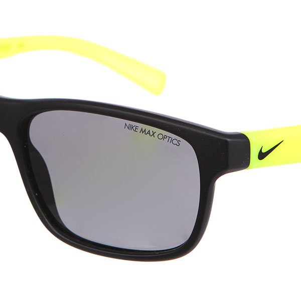 Очки Nike Optics Champ Matte Black/Volt Grey Lens