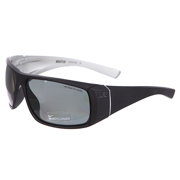 Очки Nike Optics Wrapstar P Grey Max Polarized Lens Matte Black