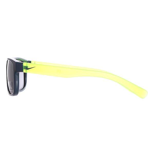 Очки Nike Optics Champ Space Blue/Matte Crystal Volt Grey W/Silver Flash Lens
