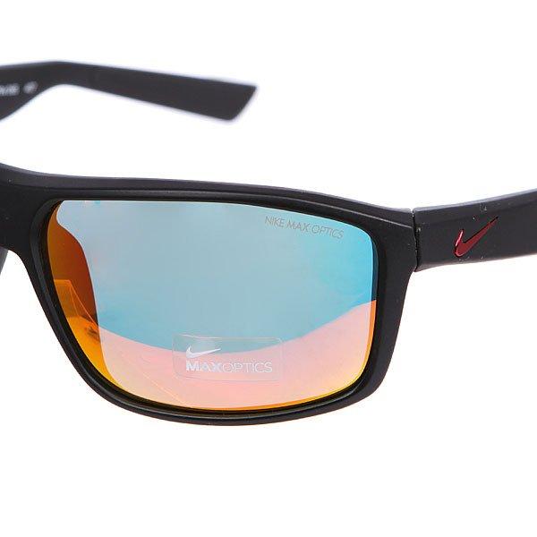 Очки Nike Optics Premier 8.0 R Matte Black/Gym Red/Grey W/Ml Red Flash Lens