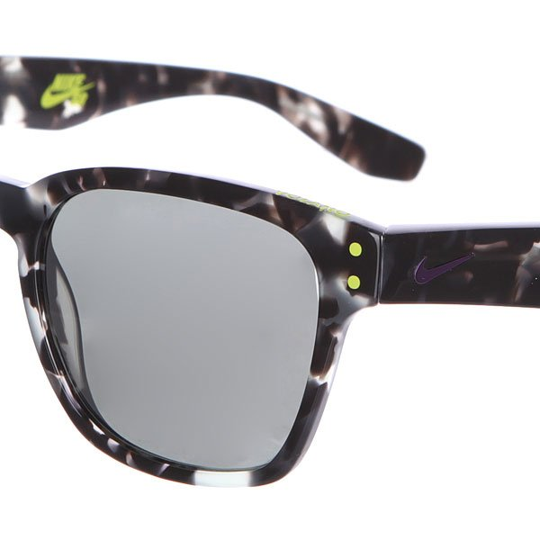 Очки Nike Optics Volano Grey Tortoise/Hyper Grape/Grey W/Silver Flash Lens
