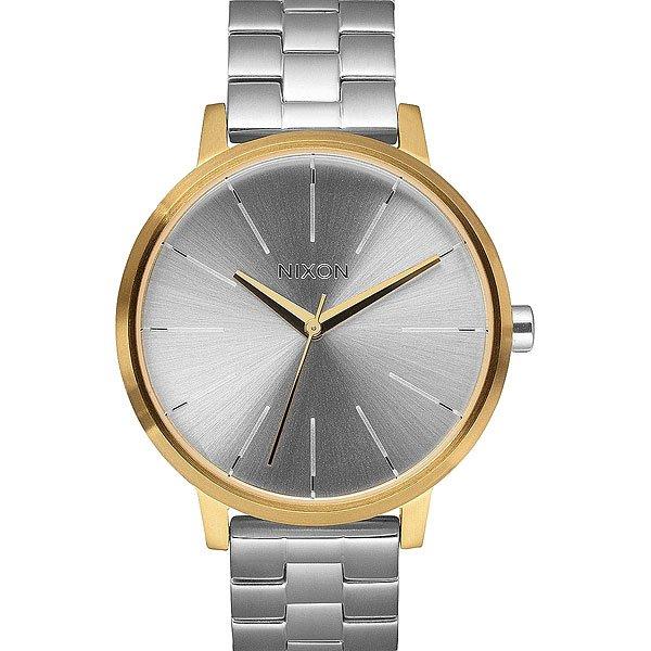 Часы женские Nixon Kensington Gold/Silver