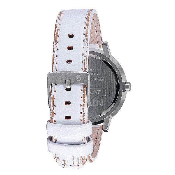 Часы женские Nixon Kensington Leather Navy/White