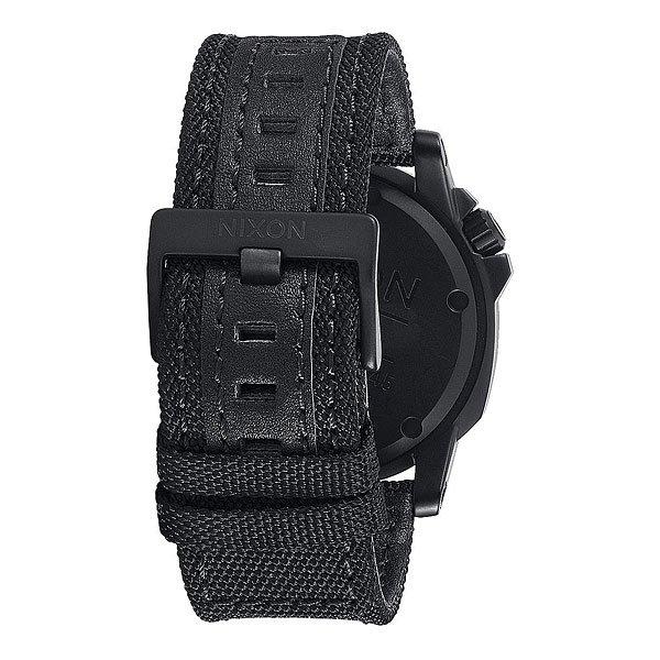 Часы Nixon Ranger 45 Nylon Black/Red