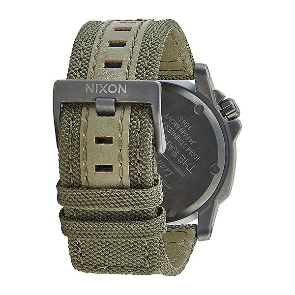 Часы Nixon Ranger 45 Nylon Gunmetal/Surplus