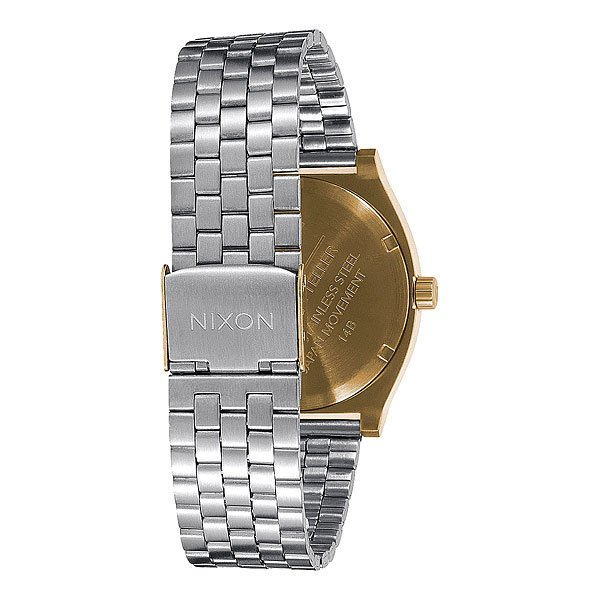 Часы Nixon Time Teller Gold/Silver