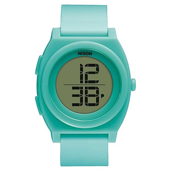 Часы Nixon Time Teller Digi Light Blue