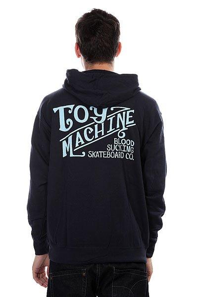 Толстовка Toy Machine Joe S Style Navy