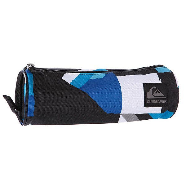 Пенал Quiksilver Pencil Case Black St Compil подарок