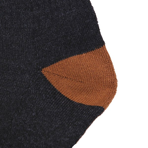 Носки высокие Nor Cal Bear Foot Sock Black Heather