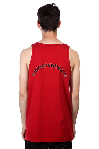 Майка Independent Cross/Bar Tank Cardinal Red