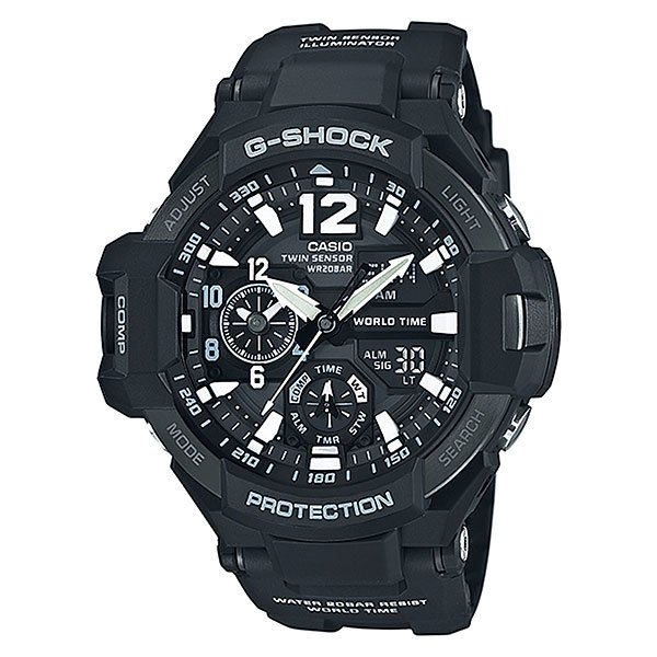 Часы Casio G-Shock Ga-1100-1a Black
