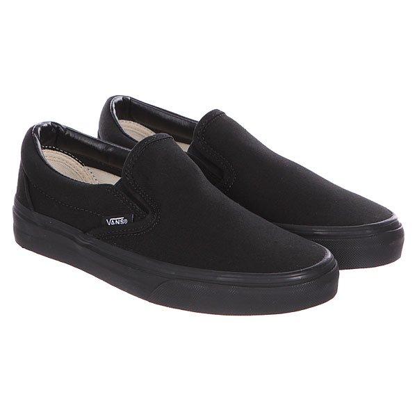 Слипоны Vans Classic Slip On True Black
