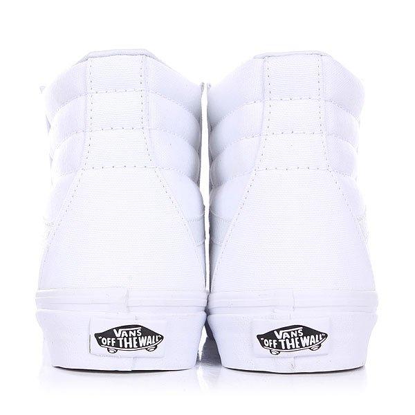 Кеды высокие Vans Sk8 Hi True White