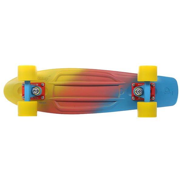 Скейт мини круизер Penny Original Ltd Canary Fade 6 x 22 (55.9 см)