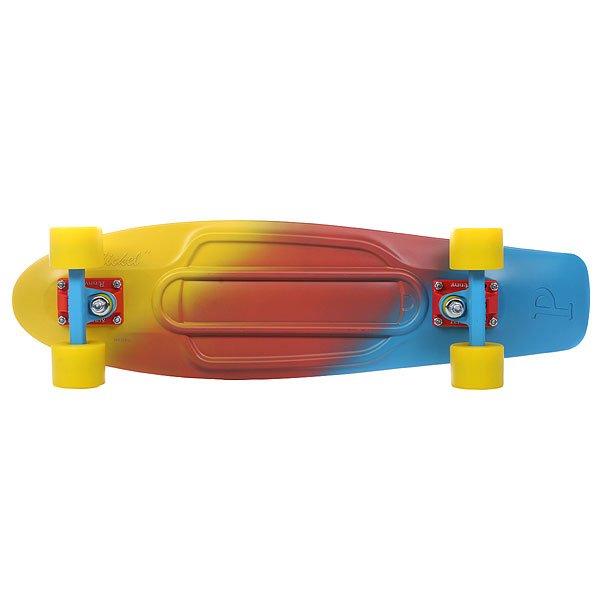 Скейт мини круизер Penny Nickel Ltd Canary Fade 7.5 x 27 (68.6 см)