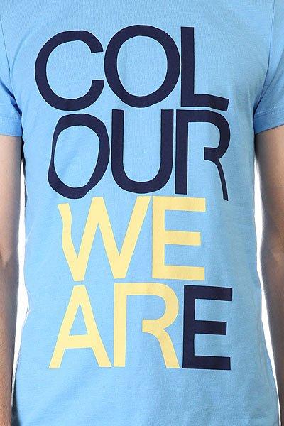 Футболка CLWR We Are Pale Blue Melange