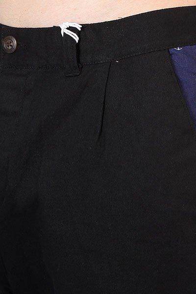 Штаны прямые CLWR Gubb Chino Black