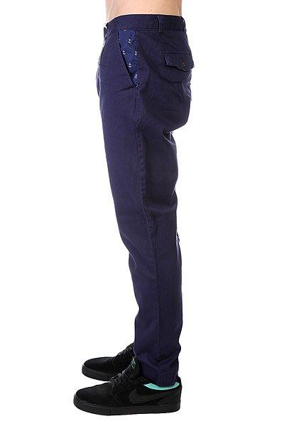 Штаны прямые CLWR Gubb Chino Patriot Blue