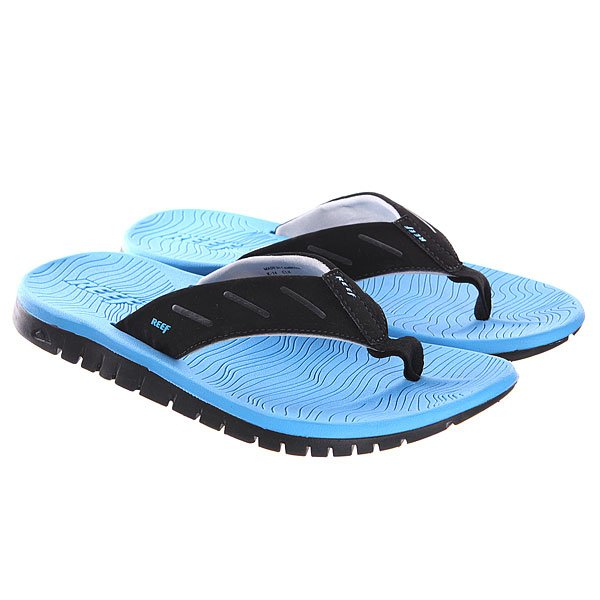 Купить Вьетнамки Reef Rodeoflip Black/Blue/Candy 1125359