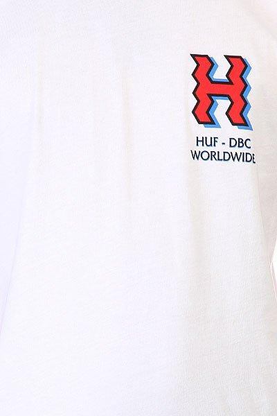 Футболка Huf Crooked H Tee White