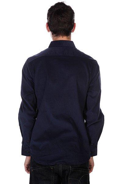 Рубашка Huf Alaster Cord Woven Navy
