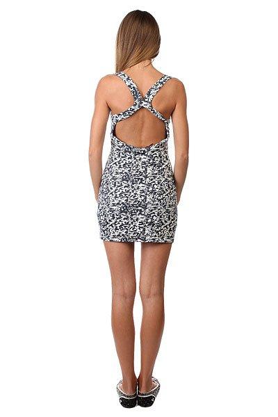Платье женское Insight Beaten Floyd Black/White