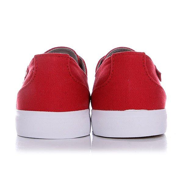 Кеды низкие Circa Crip Prwh Pompeian Red/White